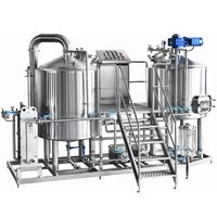 Brewing Equipment Micro Brewery Designs 100L Brewhouse