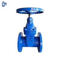 AWWA ductile iron soft seal Resilient seat gate valve