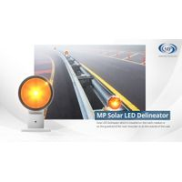 Solar LED Road Safety products / Solar(optional) LED Crosswalk Floor-installing Traffic Signal thumbnail image