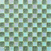 the lastest design green mirror glass mosaic MU05