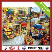 DIY painting by numbers craft oil painting