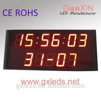 [Ganxin] Led calendar with temperature and humidity