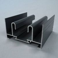 Aluminum Windows Profile, Customized Inside and Outside Colors are Accepted