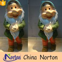 fairy tale seven dwarfs resin statues for sale NTRS-002Y