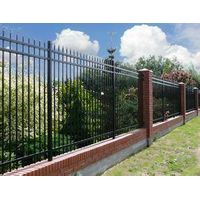 Powder coated steel fence panel manufacturers