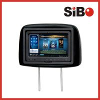 3G Taxi Advertising Headrest Tablet PC with 3G GPS WIFI Bluetooth