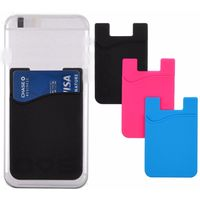 Promotional gift 3m sticker phone case card holder wallet with logo printing_HL3730 thumbnail image