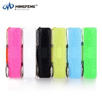 High rechargeable battery portable 2600mah power bank