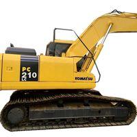 used komatsu pc210 excavator