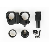Tacticla hunting shooting gun parts AR folding stock adapter scope mount