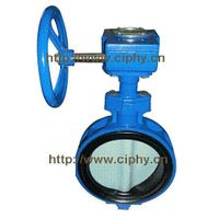 CAST IRON WAFER TYPE BUTTERFLY VALVE, PN10, HANDLE thumbnail image