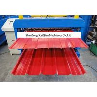 Color Steel Corrugated Roofing Sheet Roll Forming Machine For Metal Roofing Tile thumbnail image