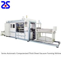 Zs-1220 PLC Control High Speed Vacuum Forming Machine