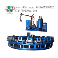PU midsole for sport shoes injection molding machine with automatic production line
