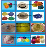 High quality Straw cowboy hat from Vietnam