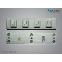 Functional Metal Keypad with 4 Keys