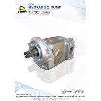 Cosmic Forklift Parts On Sale No.325-CPW HYDRAULIC PUMP CFP32 SERIES CATALOGUE (size)