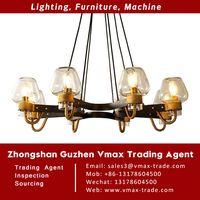 Zhongshan Guzhen Lighting Market Buying Sourcing Trade Agent wholesales pendant light