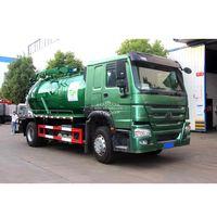 SINOTRUK HOWO 10000liters Sewage Suction Truck