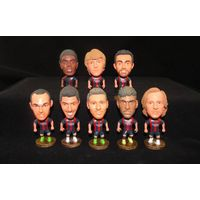 Soccer player bobble head