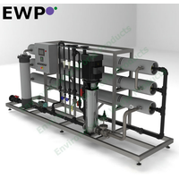 4-10 m3/h Water Purification for Industrial & Commercial use PTROM Series RO System