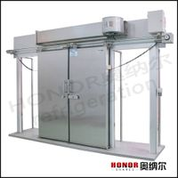 automatic cold storage room door