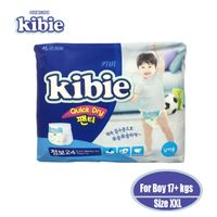 Kibie Disposable baby diapers made in Korea quick dry pants type Size XXL