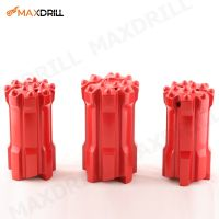MAXDRILL 102mm T45 Retrac Drop Centre Ballistic Button Bit