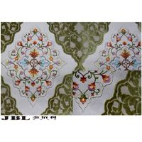 high-end  Jacquard,cut velvet,curtain fabrics with embroidery  NB130628A-2 thumbnail image