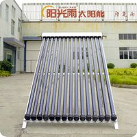 Heat pipe solar collector (15tubes)