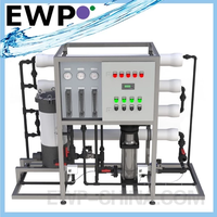 9000GPD Water Desalination for Brackish Water BWRO-B412-9000 RO Systems