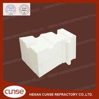 qualified manufacturer Zero Thermal Expansion Silica refractory brick for coke oven