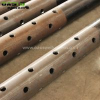 High Strength Carbon Steel Spiral Welded Perforated Pipe Manufacture