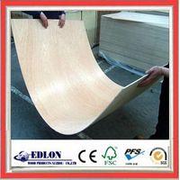 2.6mm face bintangor back poplar skin plywood doors