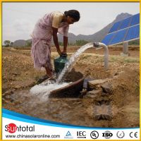 1.6hp dc solar powered irrigation water pump