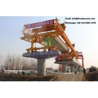bridge launching girder 180T tube beam launcher crane for erecting concrete girders