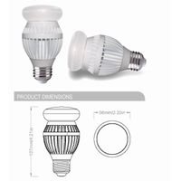 Energy star-12W Cree  LED bulb