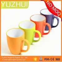 Color glazed ceramic mug, china wholesale ceramic mug, hotsale ceramic mugs promotional