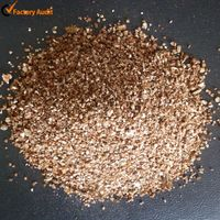 Bulk expanded vermiculite for brake pads