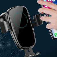 CE FCC KC Backup Battery 15w fast wireless charger car cradle for iphone samsung huawei thumbnail image