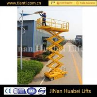 Self propelled electric air motorcycle lift table