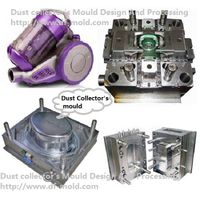 Dust Catcher Moulding, plastic part injection Mould