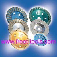 Diamond cup wheels, Turbo cup wheel, Diamond grinding wheel