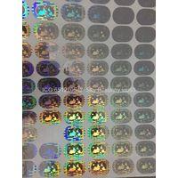 mastercard hologram sticker