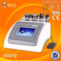 IHRU+6 5 in 1 Portable ultrasonic liposuction cavitation RF machine