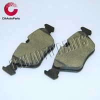 High quality ceramic material brake pads for most kinds of models of cars