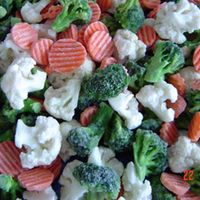 frozen mixed vegetable small bag packing thumbnail image