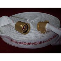 PVC lined fire hose, rubber lined fire hose, PU lined fire hose, double PVC covered fire hose, doubl thumbnail image