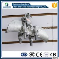 XUG galvanized malleable iron suspension clamp/Cable suspension clamp