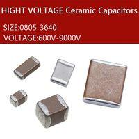 chips capacitor 1206 1200PF B122K X7R 2000V High voltage ceramic capacitors